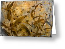 Penstemon Abstract 6 Greeting Card