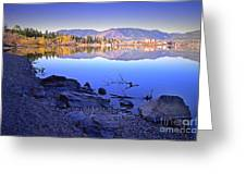 Penticton Reflections Greeting Card