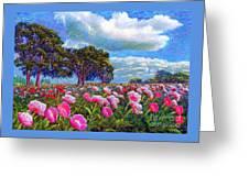 Peony Heaven Greeting Card