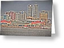 Peoria City Greeting Card