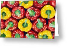 Peppers Greeting Card