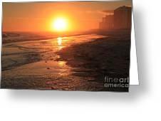 Perdido Key Sunburst Greeting Card