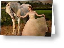 Perfect Dancers Greeting Card by Dorota Kudyba