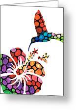 Perfect Harmony - Nature's Sharing Art Greeting Card
