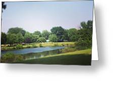 Perfect Park Afternoon Greeting Card