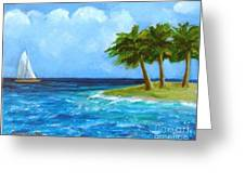 Perfect Sailing Day Greeting Card