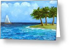 Perfect Sailing Day Greeting Card
