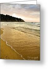 Perfect Sunset Beach Greeting Card