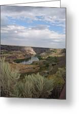 Perinne Bridge Greeting Card