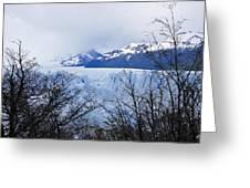 Perito Moreno Glacial Landscape Greeting Card