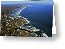 Perkins Cove, Ogunquit Beach, Ogunquit Greeting Card