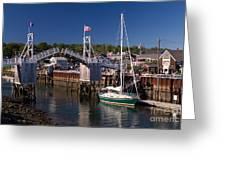 Perkins Cove Ogunquit Maine Greeting Card