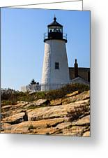 Permaquid Point Lighthouse Greeting Card