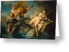 Perseus And Andromeda Greeting Card