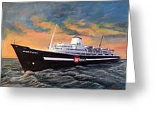 Perseverance On The Bay Greeting Card