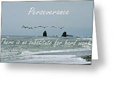 Perseverance Greeting Card