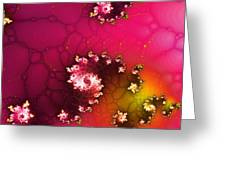 Persistent Flowers Greeting Card