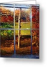 Perspective On Fall  Greeting Card
