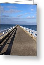 Perspective Pier Greeting Card