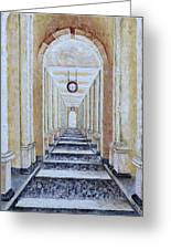 Perspective View Greeting Card by Draia Coralia