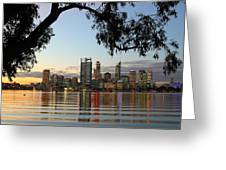 Perth 2am-110873 Greeting Card