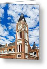 Perth Town Hall Greeting Card