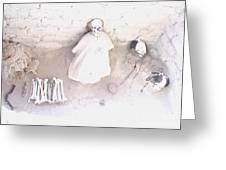 Peru Nazca Bones Two Greeting Card