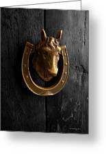 Peruvian Door Decor 5 Greeting Card