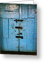 Peruvian Door Decor 8 Greeting Card