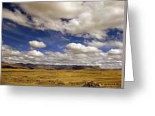 Peruvian High Plains Greeting Card