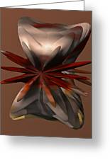 Petals And Stone Greeting Card