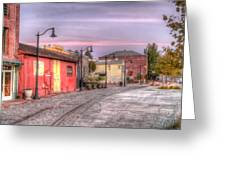 Petaluma Morning Greeting Card