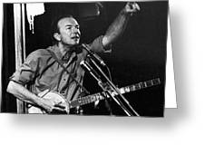 Pete Seeger  Greeting Card