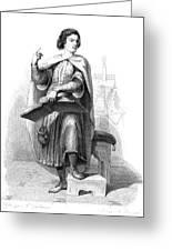 Peter Abelard (1079-1142) Greeting Card