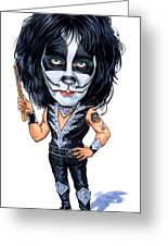 Peter Criss Greeting Card by Art