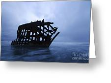 Peter Iredale Shipwreck Oregon 3 Greeting Card