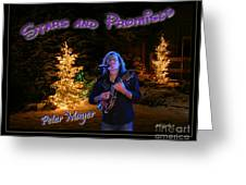Peter Mayer Stars And Promises Christmas Tour Greeting Card