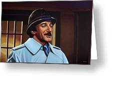 Peter Sellers As Inspector Clouseau  Greeting Card