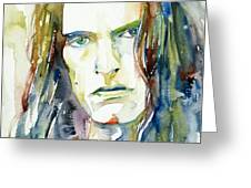 Peter Steele Portrait.4 Greeting Card
