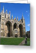 Peterborough Cathedral Greeting Card