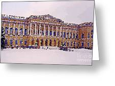 Peterburg Around Greeting Card