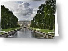 Peterhof Fountains Greeting Card