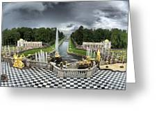 Peterhof Palace Greeting Card