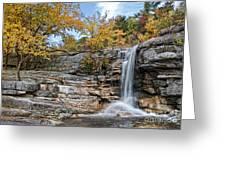 Peterskill Falls Greeting Card