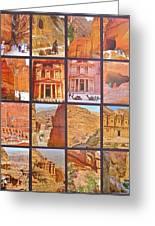Petra Alive In Petra Jordan Greeting Card