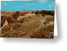 Petrified Forest National Park Greeting Card