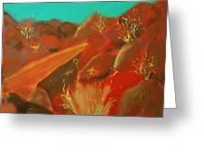 Petroglyph Park Greeting Card