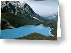 Peyto Lake Greeting Card
