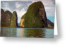 Phang Nga Bay Greeting Card