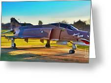 Phantom 4 Jet Vietnam Era Greeting Card